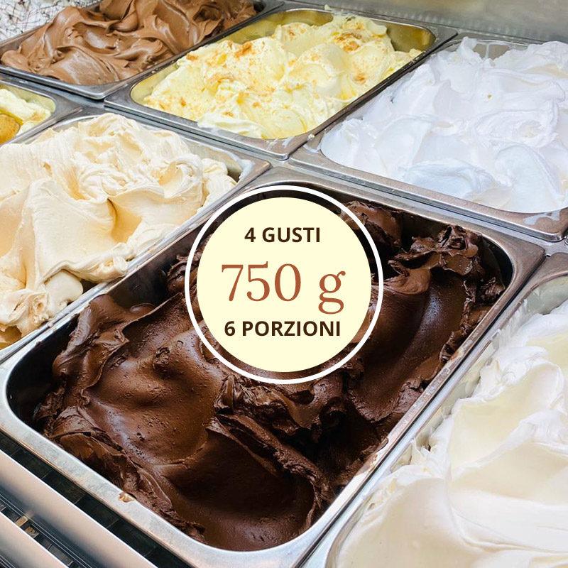 vaschetta gelato 750g grammi