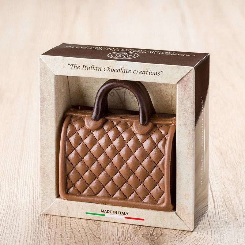 borsa cioccolato bauletto