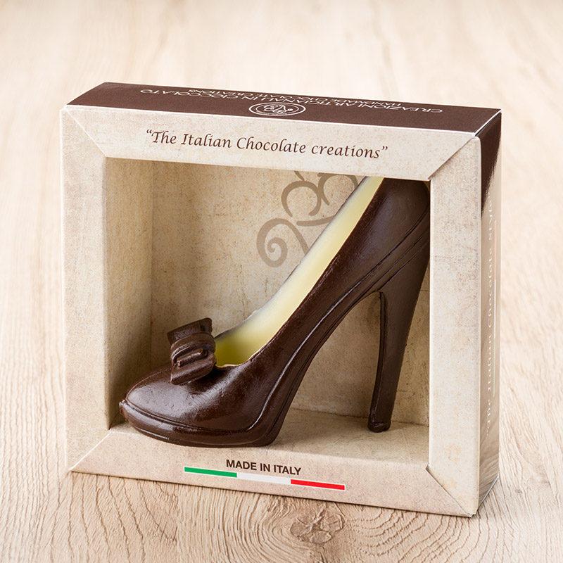 scarpa da donna cioccolato piccola