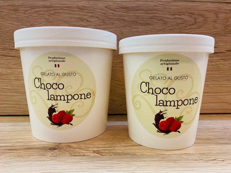 gelato choco lampone